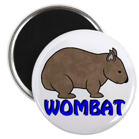 Wombat Logo III Magnet
