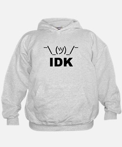 Unique Dont care Hoodie