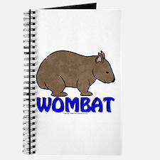 Wombat Logo III Journal