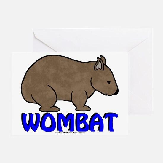 Wombat Logo III Greeting Card