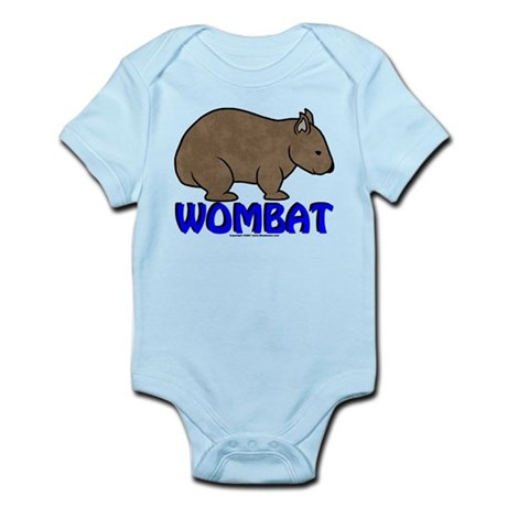 Wombat Logo III Infant Bodysuit