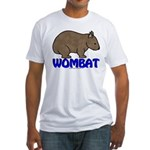Wombat Logo III Fitted T-Shirt