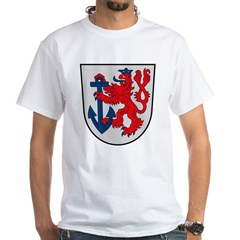 Dusseldorf Coat of Arms White T-Shirt