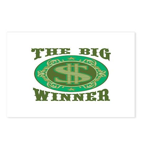 The Big Winner Postcards (Package of 8)