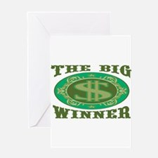 The Big Winner Greeting Card