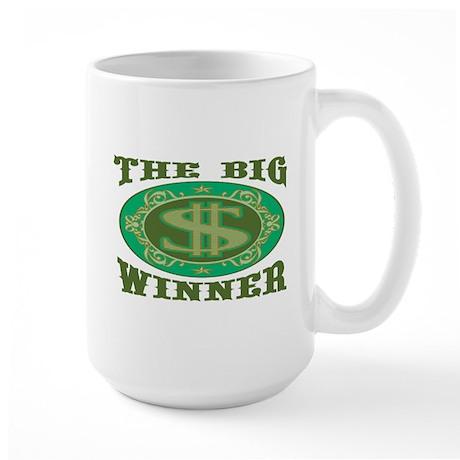 The Big Winner Large Mug