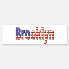 Patriotic Brooklyn Bumper Bumper Bumper Sticker