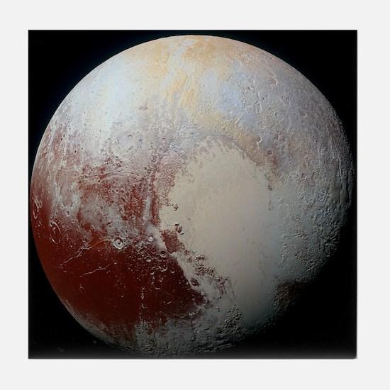 Pluto - The Largest Dwarf Planet Tile Coaster
