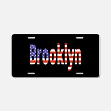Patriotic Brooklyn Aluminum License Plate