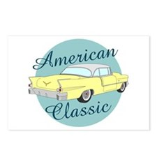 American Classic Cadillac Postcards (package Of 8)