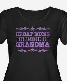 Cute Great moms get promoted to grandma T