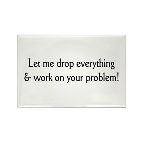 Your problem! Rectangle Magnet (10 pack)