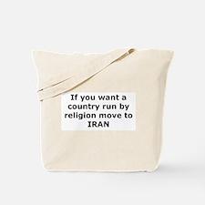 Move to IRAN Tote Bag