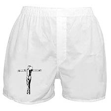 Crucified Skin Boxer Shorts
