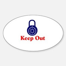 Keep Out Decal