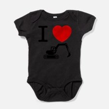 Cute Office workers Baby Bodysuit