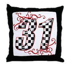 RaceFashion.com 31 Throw Pillow
