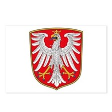 Frankfurt Coat of Arms Postcards (Package of 8)