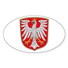 Frankfurt Coat of Arms Oval Decal