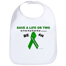 Save A Life Or Two Bib
