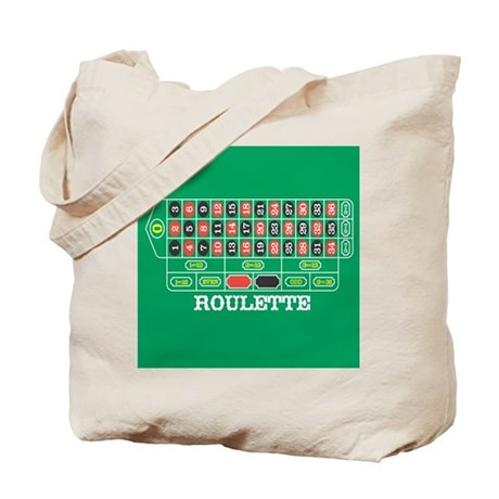 Roulette Table Tote Bag