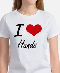 I love Hands T-Shirt