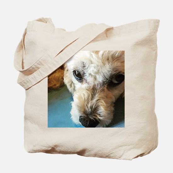 Unique Poodle mix Tote Bag