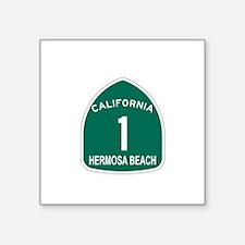 """Cute Carmel beach Square Sticker 3"""" x 3"""""""