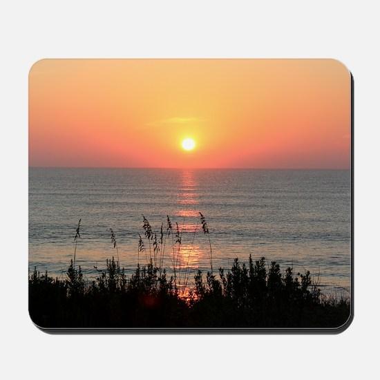 Outer Banks Sunrise Mousepad
