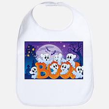 Cute Happy halloween Bib