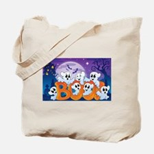 Cute Happy halloween Tote Bag