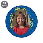 """Hannah 20153.5"""" Button (10 Pack)"""
