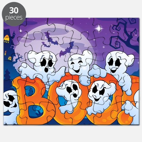 Funny Ghost Puzzle