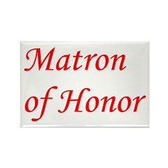 Matron of Honor Rectangle Magnet (100 pack)