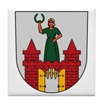 Magdeburg Coat of Arms Tile Coaster