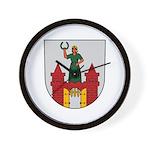 Magdeburg Coat of Arms Wall Clock