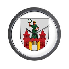Magdeburg Coat of Arms Wall Clock