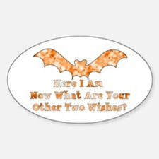 Here I Am Oval Decal