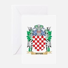 Batch Coat of Arms - Family Crest Greeting Cards