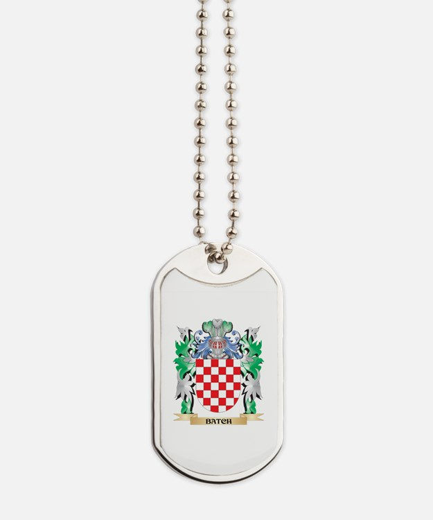 Batch Coat of Arms - Family Crest Dog Tags