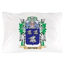 Bather Coat of Arms - Family Crest Pillow Case