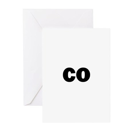 co Greeting Cards (Pk of 20)
