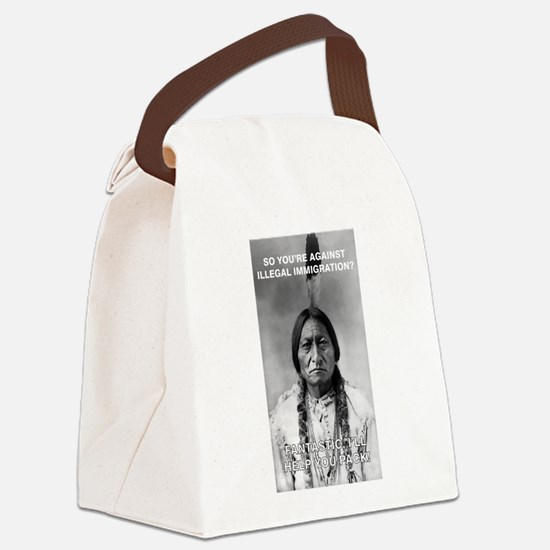 illegal immigration Canvas Lunch Bag