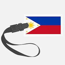 Philippines flag Luggage Tag