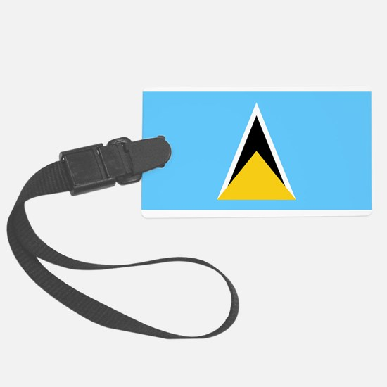 St Lucia Luggage Tag
