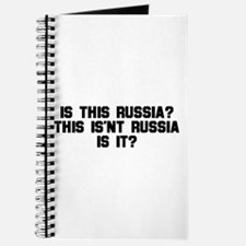 Is This Russia? This Isn't R Journal