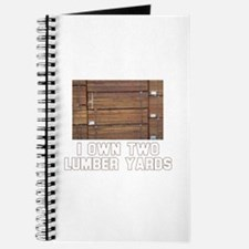 I Own Two Lumber Yards Journal