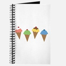 Ice Cream Border Journal