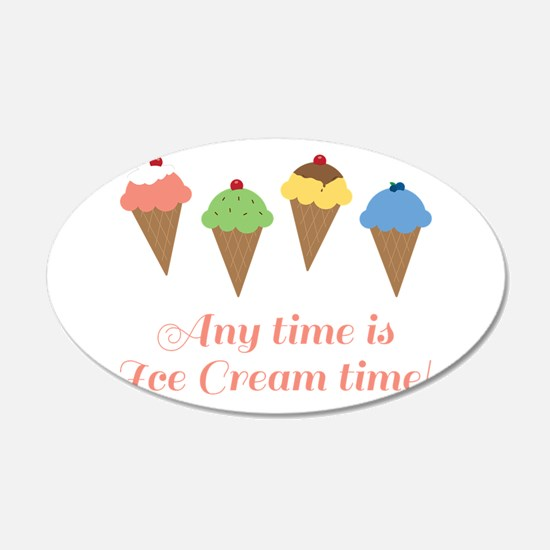Ice Cream Time Wall Decal