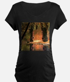 The magical temple Maternity T-Shirt